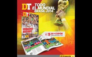 DT Mundial, la revista con lo mejor de Brasil 2014
