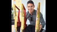 James Rodríguez y los grandes recuerdos que tiene del Mundial