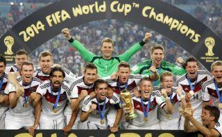 Alemania lidera nuevo ránking FIFA y Brasil cae al puesto siete