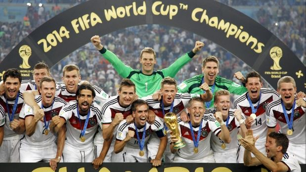 Resultado de imagen para alemania futbol 2014