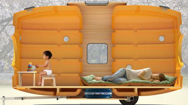 ¿Dormirías en un tanque de agua? Conoce esta casa flotante