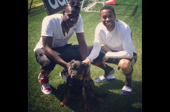 Los cracks del fútbol y el amor por sus mascotas en Instagram