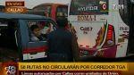 Callao apelará el retiro de 13 rutas del eje Tacna-Arequipa - Noticias de miguel gonzales huapaya