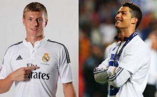 """Kroos: """"Me alegra jugar con futbolistas como Cristiano Ronaldo"""""""