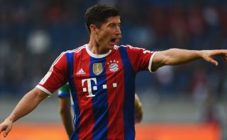 Lewandowski marcó este golazo en su debut en Bayern Múnich