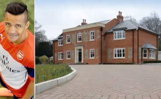 Alexis Sánchez compraría mansión de US$9 millones en Londres