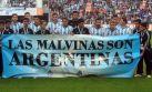 FIFA multa a Argentina por pancarta sobre las islas Malvinas