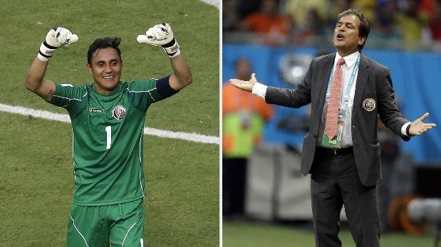Revelan problemas entre Pinto y Keylor Navas durante el Mundial
