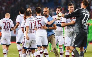 Bayern ganó 5-4 en penales y jugará la final de la Telekom Cup