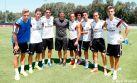 Beckham visitó entrenamiento del Real Madrid en Los Angeles