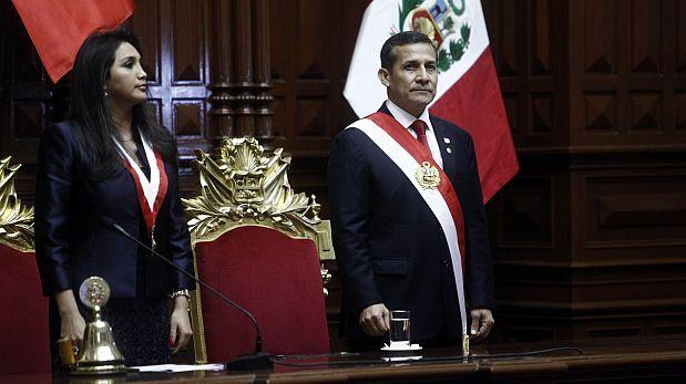 """Humala concluyó mensaje a la Nación: """"Vamos a seguir creciendo"""""""