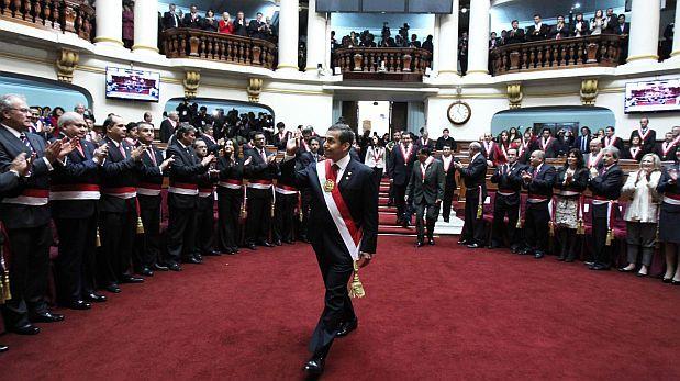 Diez políticos de oposición critican mensaje de Ollanta Humala