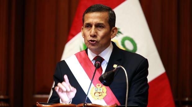 El mensaje de Humala: las frases políticas del 28 de julio