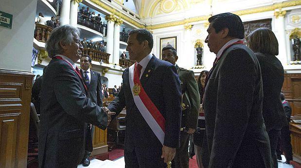 Humala pidió deponer confrontación para mantener crecimiento