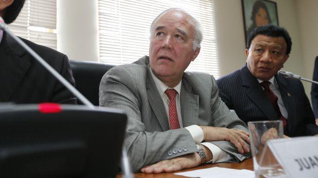 García Belaunde reveló el voto de su bancada por Solórzano