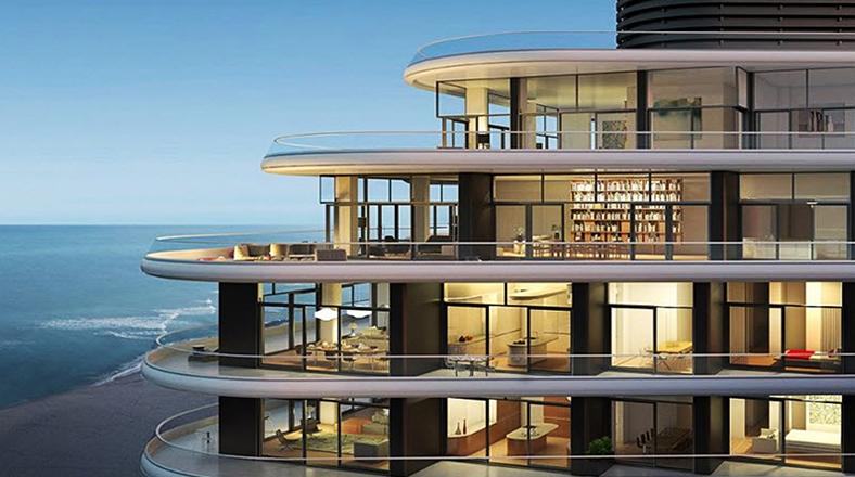 De otro tiempo recorre esta casa de playa futurista en for Casas futuristas