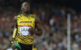 Usain Bolt reapareció así tras ocho meses de estar lesionado