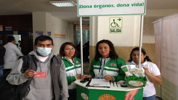 Más de 90 mil peruanos aceptarían donar sus órganos