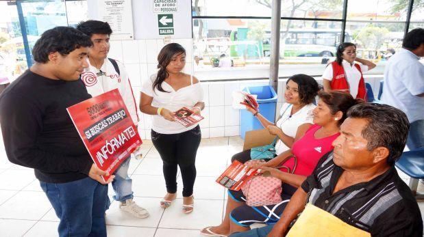 Piura: Realizan campaña contra la trata de personas