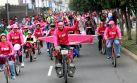 FOTOS: Limeños montan bicicleta por los derechos de las niñas
