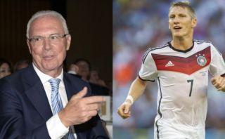 Beckenbauer quiere a Schweinsteiger como capitán de Alemania