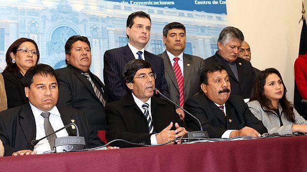 Gana Perú espera que Jaime Delgado retorne a bancada