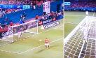 Increíble: mira el gol que casi cobran en favor del Manchester