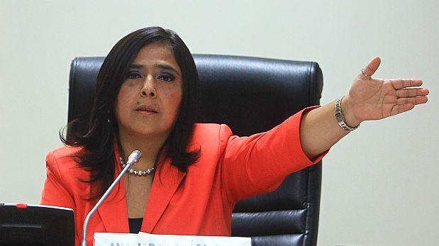Tejada: Ana Jara podría ser candidata a la Presidencia el 2016