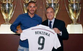 Karim Benzema renovó contrato con el Real Madrid hasta el 2019