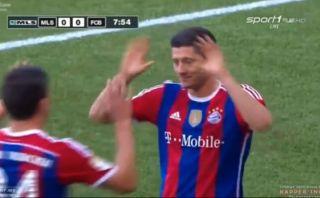 Otro golazo de Lewandowski: mira el tanto del polaco con Bayern
