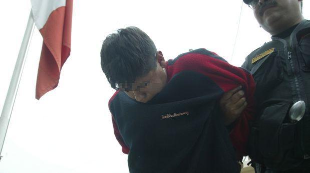 Huaral: caen tres sujetos tras robar S/.4 mil de un banco