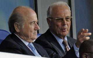 """Beckenbauer y Joseph Blatter unidos de nuevo: """"No hay rencor"""""""