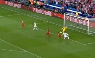 Cristiano Ronaldo anotó así su primer gol en la temporada
