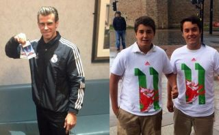 Gareth Bale hizo realidad el sueño de dos niños españoles