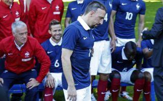 Franck Ribéry anunció su retiro de la selección francesa