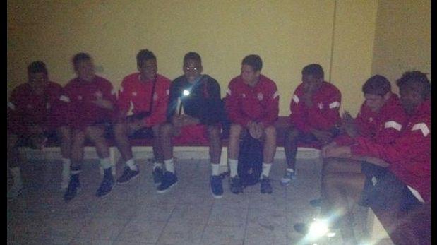 Jugadores santos denunciaron quedar encerrados en Ayacucho