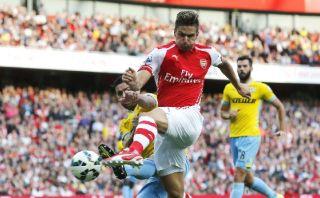 Ramsey le dio el triunfo al Arsenal sobre el Crystal Palace
