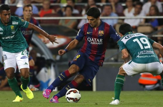 Las mejores imágenes del 6-0 del Barcelona ante el León