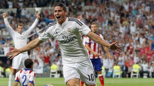 ¿Qué dijo James Rodríguez tras su primer gol con el Madrid?