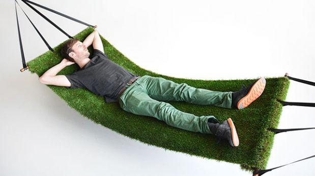 """Esta """"hamaca de pasto"""" llevará la naturaleza a cualquier casa"""