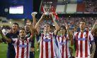 Atlético de Madrid festejó así título de la Supercopa de España