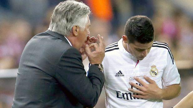 ¿Por qué Ancelotti cambió a James Rodríguez si era el mejor?