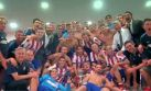 La celebración del Atlético de Madrid que no viste por la TV