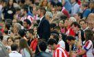 Así vivió la Supercopa el 'Cholo' Simeone tras ser expulsado