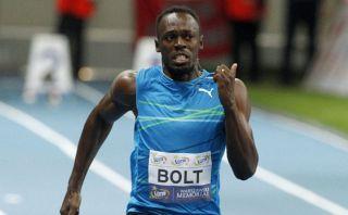 Usain Bolt gana los 100 metros en Varsovia con 9,98 segundos