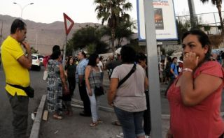 Chile: Sismo de 6,4 grados sacude zona central del país
