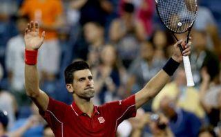 Favorito: Djokovic inició con triunfo su ruta en el US Open