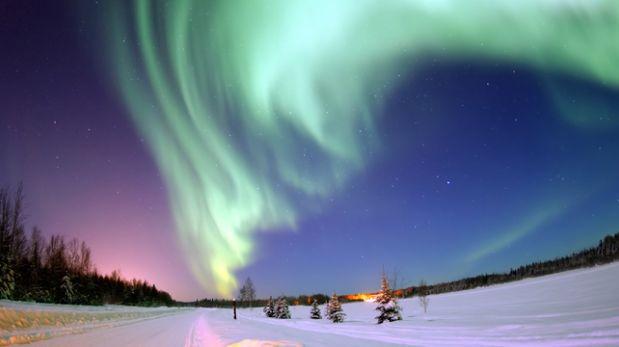 Descubre cómo luce una aurora austral vista desde el espacio