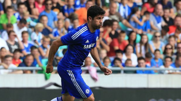 Diego Costa se lesionó durante entrenamientos y espera exámenes