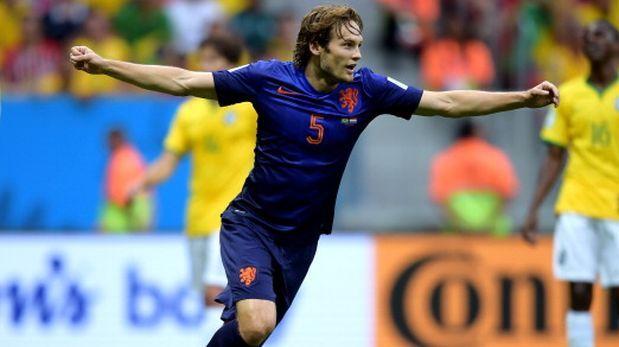 Manchester United anunció el fichaje del holandés Daley Blind